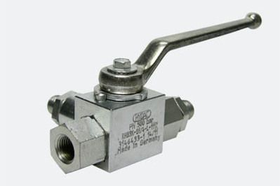 3 way HP ball valve G1/4""